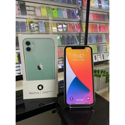 iPhone 11 128 Gb Green (Ptktysq) б/у