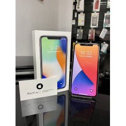 iPhone X 64gb Silver б/у РСТ