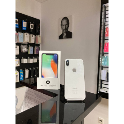 iPhone X 256 Gb Silver б/у РСТ