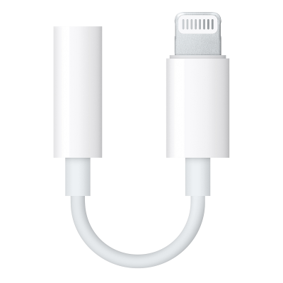 Переходник Apple Lightning to 3.5mm Headphone Adapter (MMX62ZM/A)