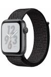Умные часы Apple Watch Nike+ Series 5 40 мм, корпус из алюминия цвета серый космос, спортивный браслет Nike черного цвета