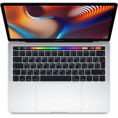 Ноутбук Apple MacBook Pro 13 с дисплеем Retina и Touch Bar Silver (MR9V2LL/A)  (Intel Core i5 2300 MHz/13.3/8GB/512GB SSD/Intel Iris Plus Graphics 655/Серебристый)