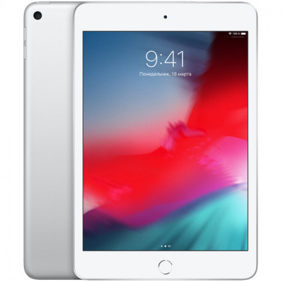 Apple iPad mini 5 Wi-Fi + 4G 64Gb Silver
