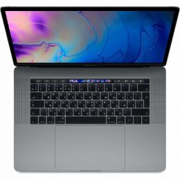 "Ноутбук Apple MacBook Pro 15"" Touch Bar (2019) (MV902), Space Grey, Touch ID, Intel Core i7 2.6 ГГц, DDR4 16 Гб, SSD 256 Гб, Radeon Pro 555X"