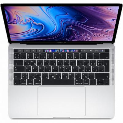 "Ноутбук Apple MacBook Pro 13"" Touch Bar (2019) (MV9A2) Silver, Touch ID, Intel Core i5 2.4 ГГц, 8 Гб, SSD 512 Гб, Intel Iris Plus Graphics 655"