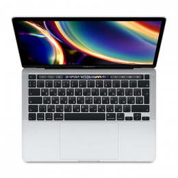 "Ноутбук Apple MacBook Pro 13"" Touch Bar (2020) (MXK62LL) Silver, Touch ID, Intel Core i5 1.4 ГГц, 8 Гб, SSD 256Гб, Intel Iris Plus Graphics 645"