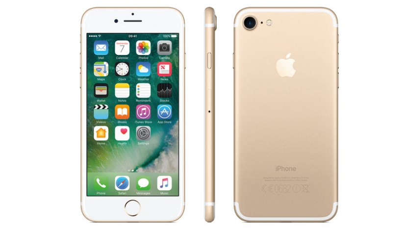 Задняя панель iPhone 7 Gold